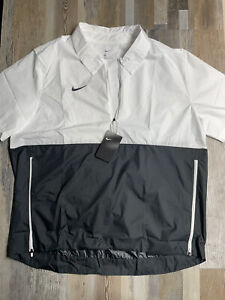 NWT Men's Nike Football Lightweight Jacket Windbreaker Size XL $65 Short Sleeve