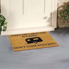 Funny Door Mat Outdoor Indoor Coir Mat By Artsy Caravan Rocking 60x40cm NEW