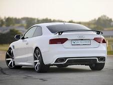 Audi A5 S5 B8 S-Line Diffuser Diffusor Undertray Aero Body kit Rear RS5 Heck