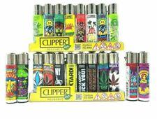 20x Bundle Clipper Lighters Full Size Refillable Mix 20x