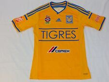 Men's soccer ADIDAS TIGRES yellow jersey size SMALL