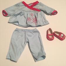 American Girl Bitty Baby Snowflake Pajamas (A30-12)