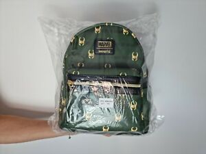 Marvel Loungefly Loki AOP Mini Backpack - In Hand - Quick Dispatch -
