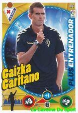 476 GAIZKA GARITANO ESPANA SD.EIBAR PLUS ENTRENADOR CARD ADRENALYN 2015 PANINI