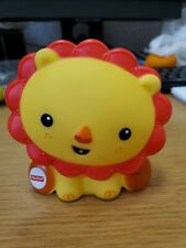2015 Fisher-Price Rainforest Bath Squirter Yellow Lion Baby Toddler Play