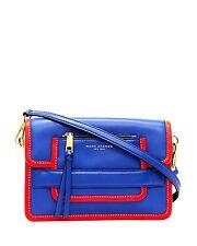 NWT Marc Jacobs Madison Medium Leather Shoulder Bag - Cobalt Blue color block