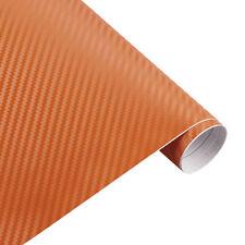"""3D Carbon Fiber Matte Vinyl Film Car Wrap Sheet Wrap Roll Stickers Decor 12""""x50"""""""