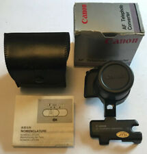 Canon AF Telephoto Converter Lens for Sure Shot Multi Tele Date Prima, Boxed VGC