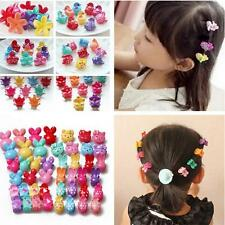 Multi-kinds Plastic Kids Baby Clamp Girls Hairpins Mini Claw Hair Clips