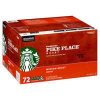 Starbucks Pike Place Medium Roast K-Cup, 72-count (1158)