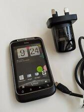 HTC Wildfire S - Black (Three) Smartphone