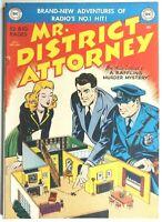 MR. DISTRICT ATTORNEY #17 * GOLDEN AGE COMICS * 1950 DC COMICS * LAW * CRIME