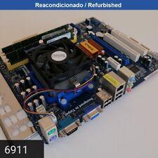 Motherboard ASRockN68C-S UCCRev 1.04 AM2+ AM3 DDR2 DDR3 mATX + Sempron 140 + 4