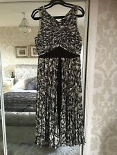 Whistles Pleated Maxi Dress size 12