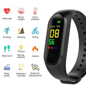 Smart Watch Fitness Sports Tracker Heart Rate Blood Pressure Monitor Bracelet
