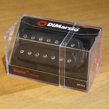 DiMarzio Blaze Custom 7 Cuerdas recoger en Negro DP703