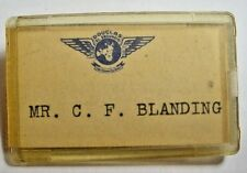 Douglas Aviation Employee Badge-El Segundo-WWII-Blanding