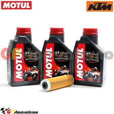 TAGLIANDO OLIO + FILTRO MOTUL 7100 10W40 3L KTM 990 ADVENTURE DAKAR EDITION 2011