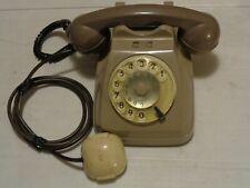 VECCHIO TELEFONO SIP A DISCO USO TELECOMUNICAZIONI - ANNI 60/70 - FUNZIONANTE
