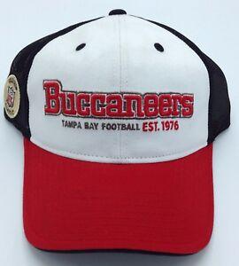 NFL Tampa Bay Buccaneers Reebok Adult Adjustable Mesh Cap NEW SEE DESCRIPTION