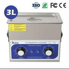 New Listingnew 3l Ultrasonic Cleaner Stainless Steel Industry Heated Heater Withtimer