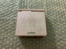 Nintendo GameBoy Advance, GBA SP AGS 101 Pearl Pink System -- Has wear