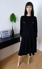 Ensemble pull et jupe en laine PASTELLE Made in France taille 38 - UK 10 - US 6