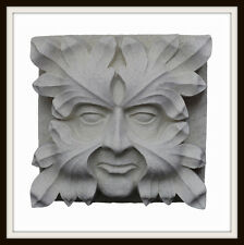 THE GLOUCESTER CATHEDRAL GREEN MAN ~ GREENMAN WALL PLAQUE  GARDEN / HOME UK MADE