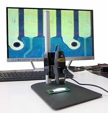 Digital Microscope with Stand, 10X-200X, USB Video, Camera + Measure Software