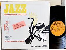 JAZZ LP: CHRIS COLUMBO QUINTETTE Jazz featuring: HIT VERSION OF SUMMERTIME