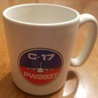 Pratt & Whitney PW2037 - C-17 Coffee Mug, VIntage Clean and Glossy