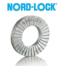 Nord-Lock 1099 Wedge Locking Washer - 316 Stainless Steel-M10-Large O.D.-Qty 25