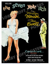 THE SEVEN YEAR ITCH LOBBY CARD POSTER OS 1955 MARILYN MONROE TOM EWELL