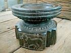 Rare Old Tribal Wooden Farming Equipment Used for Planting Seeds Bijani