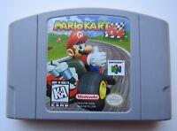 *GOOD* Authentic Mario Kart Nintendo 64 N64 Video Game Cart Super Fun Retro Kids