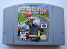 OEM Mario Kart Nintendo 64 N64 Authentic Rare Retro Video Game Cart Racing GOOD!