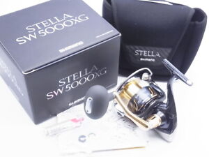 2013 Shimano Stella SW 5000XG Spinning Reel Made In Japan Very Good+ W/Box