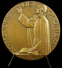 Médaille à Louis Bourdaloue prédicateur jésuite janséniste sc P Turin 1950 medal