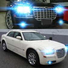2x 100W 8000k Fog Lights for Chrysler 300 300C 2005 2006 2007-2009 LED Lamp