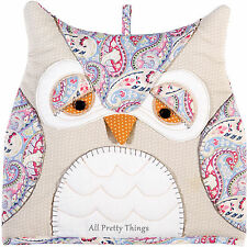 OWL SHAPED TEA COSY ULSTER WEAVERS - Post W/wide - 7OWL04