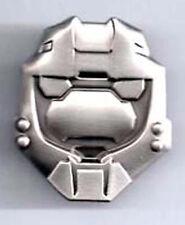 "Halo 3 War Game Pewter Master Chief Helmet Pin 1 ½""  (HOPI-01)"