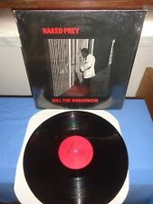 "Naked Prey ""Kill The Messenger"" LP FUNDAMENTAL NETHERLANDS 1988"