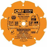 "CMT P07010 ITK Plus Circular Saw Blades 7 1/4"" for Fiber Cement Products"