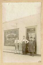 WESSELLS & GRAY REPAIR SHOP IN BURLINGTON, NJ & ORIGINAL ca 1896 PHOTO