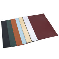 Restaurant Faux Leather Placemats / Dining Table Place Settings Mats
