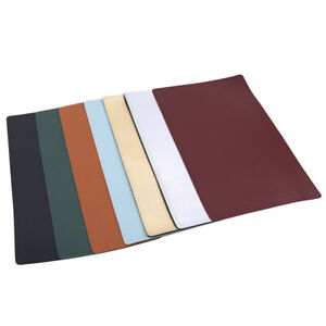 Durable Restaurant Faux Leather Placemats Dining Table Place Dining Mats ONE