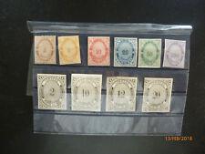 10 timbres mexique, lokalpost ponte de mar, réproduction, inutilisé