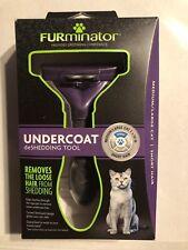 FURminator Undercoat deShedding Tool For Medium to Large Cats Short Hair