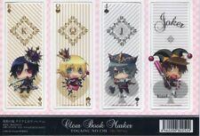 bookmark set Togainu no Chi anime Akira Shiki Rin Keisuke