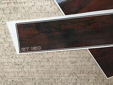 Glastron GT-150 dash panel and ski locker cover decals